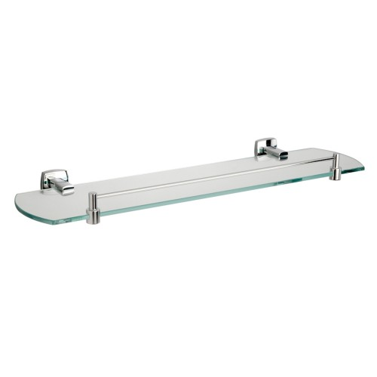 Miller Of Sweden 6402C Denver Glass Shelf with Rail