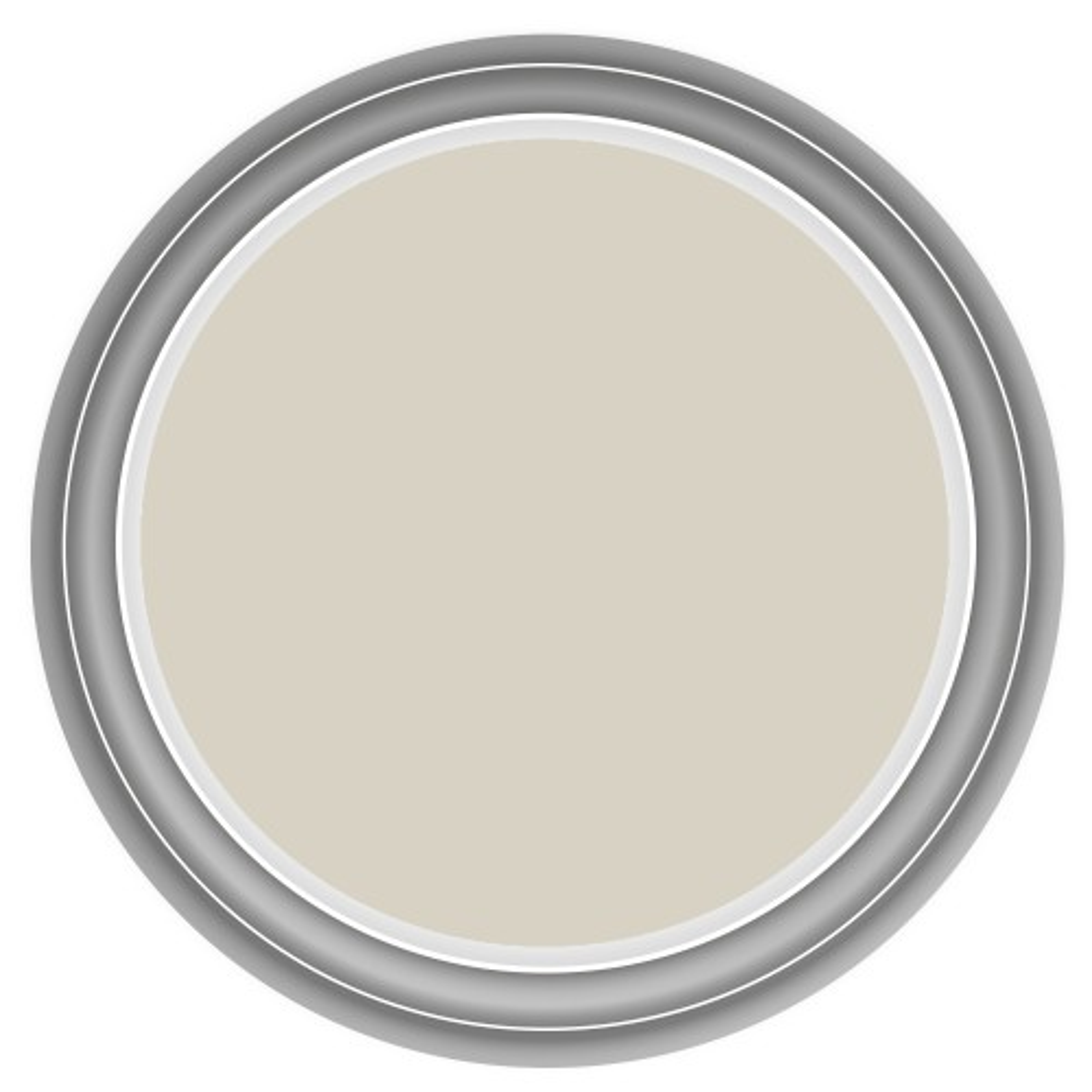 Dulux 2.5l Once Matt Emulsion, Egyptian Cotton