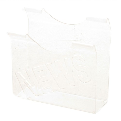Casa News Acrylic Magazine Holder