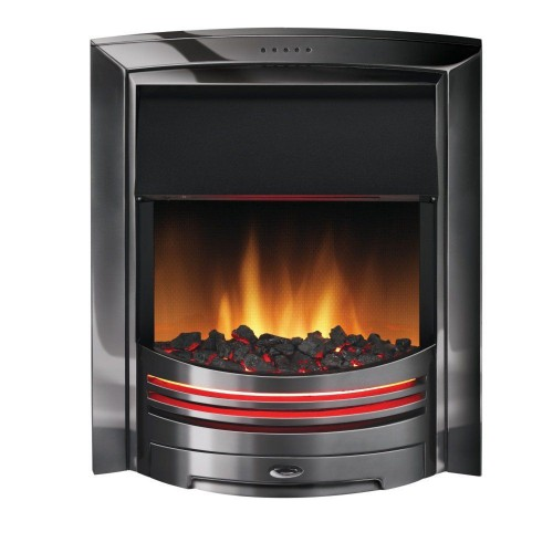 Dimplex Adagio Electric Fire, Black Nickel