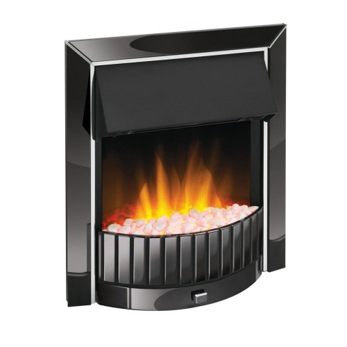Dimplex Delius Electric Fire, Black Nickel