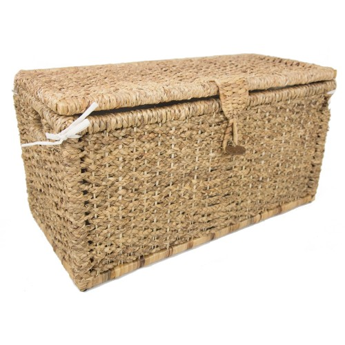 Casa  Lidded Trunk Small, Natural
