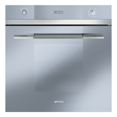 Smeg SF109S Single Multifunction Oven, Stainless Steel