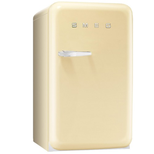 Smeg FAB10HRP Freestanding Fridge, Cream