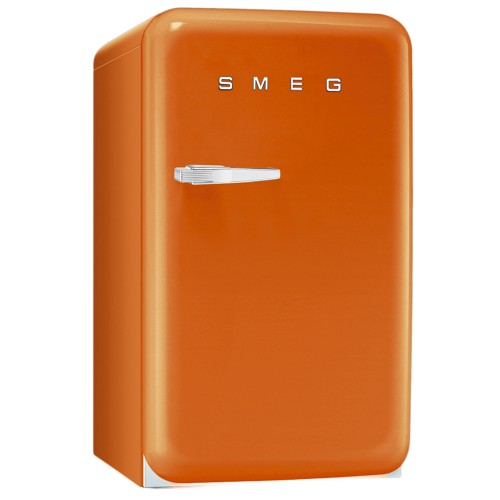 Smeg FAB10RO Fressstanding Fridge, Orange