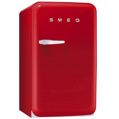 Smeg FAB10RR Freestanding Fridge, Red