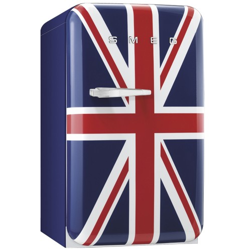 Smeg FAB10RUJ Freestanding Fridge, Union Jack