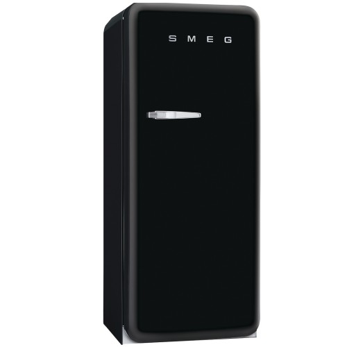 Smeg FAB28QNE1 Freestanding Fridge, Black