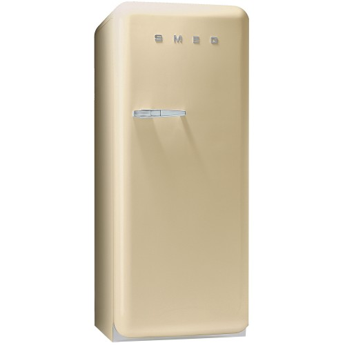 Smeg FAB28QP1 Freestanding Fridge, Cream
