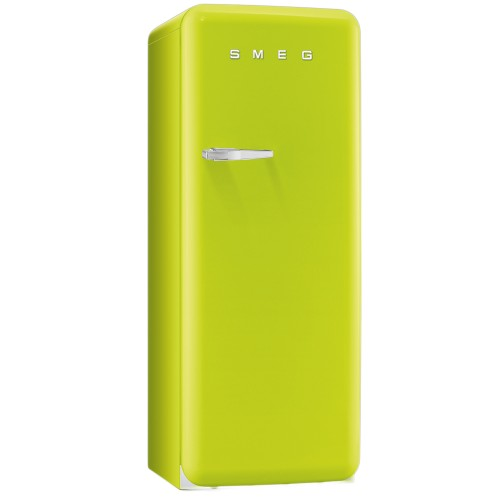 Smeg FAB28QVE1 Freestanding Fridge, Lime Green