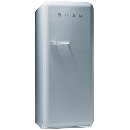 Smeg FAB28QX1 Freestanding Fridge, Silver