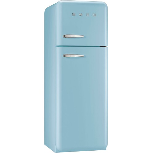 Smeg FAB30RFA Freestanding Fridge Freezer 60cm, Pastel Blue