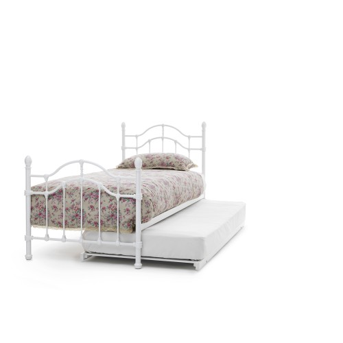 Casa Paris Single Guest Bed, White