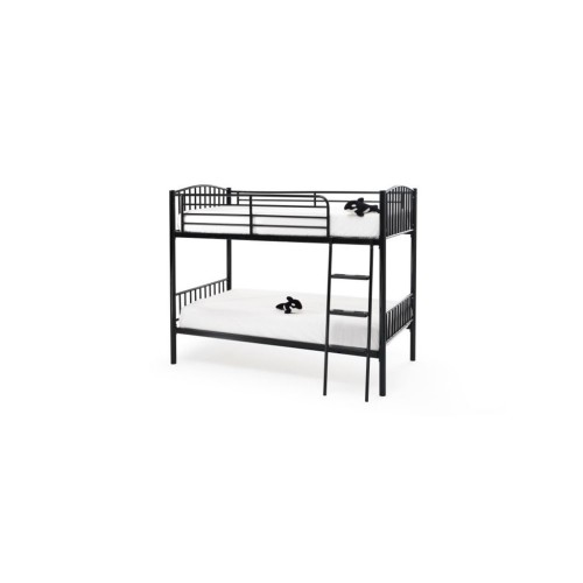 Casa Oslo Twin Sleeper Bunk Bed, Black