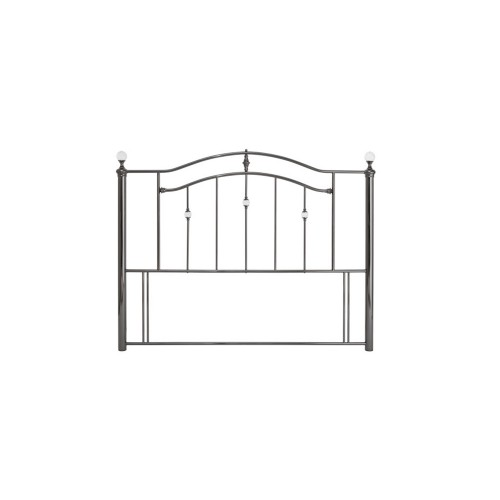 Casa Ashley Kingsize Headboard, Black Nickel