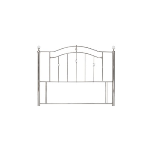 Casa Ashley Super King Headboard, Nickel