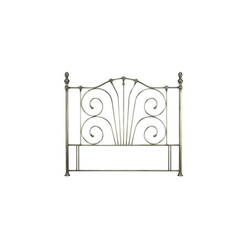 Casa Jessica King Size Headboard, Antique Brass