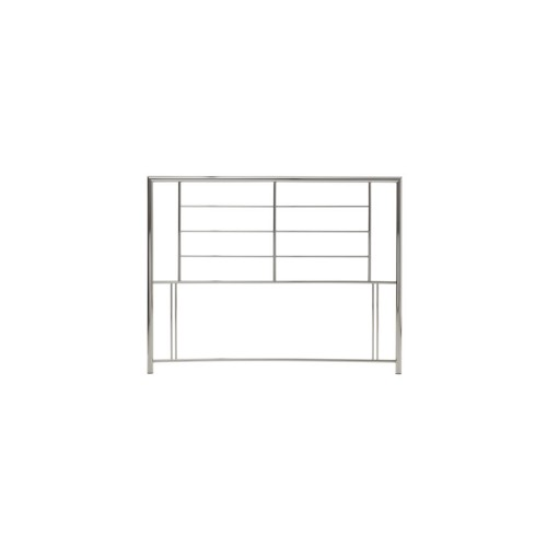Casa Zeus Small Double Headboard, Nickel