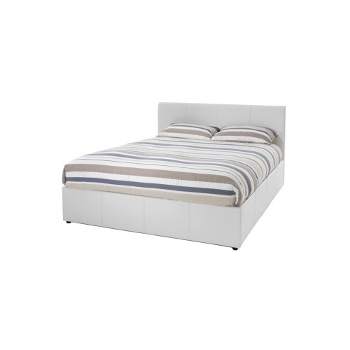 Casa Tuscany Small Double Bed Frame, White