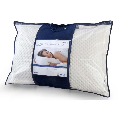 Tempur Traditional Pillow Deluxe : Tempur Comfort Pillow Traditional Leekes