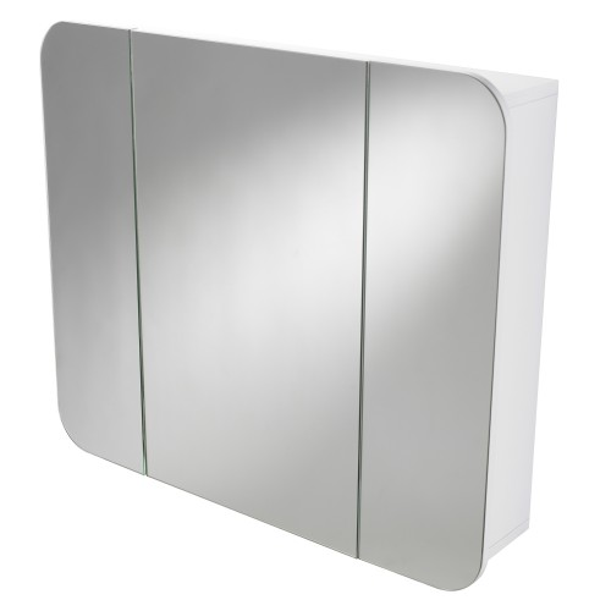 Showerdrape Wentworth Triple Cabinet, Glass