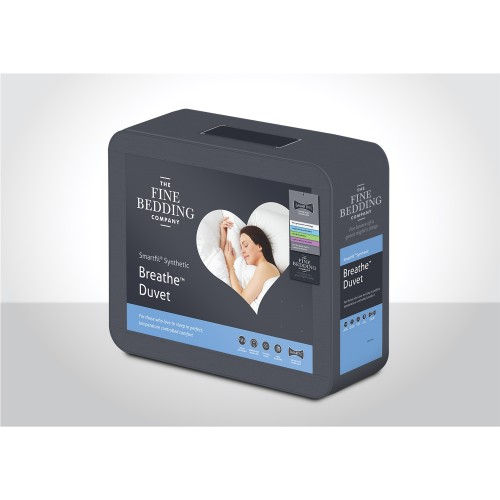 Fine Bedding Company Breathe Duvet 4.5 Tog Double, White