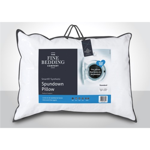 Fine Bedding Company Spundown Support Pillow Medium, White