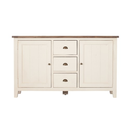 Casa Cotswold Wide Sideboard, White