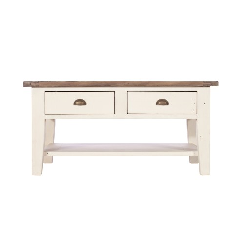 Casa Cotswold Coffee Table, White