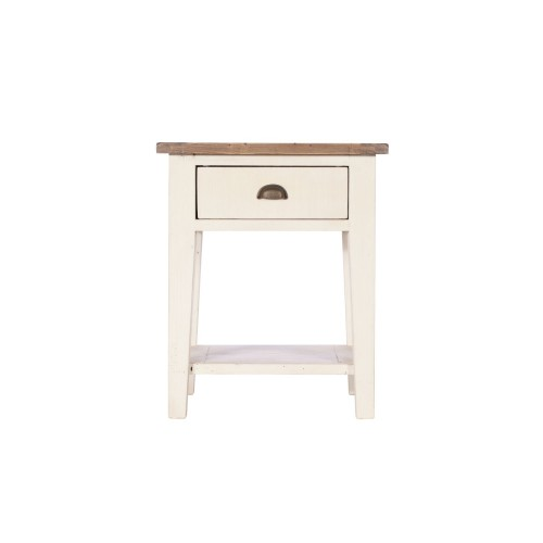 Casa Cotswold Lamp Table, White