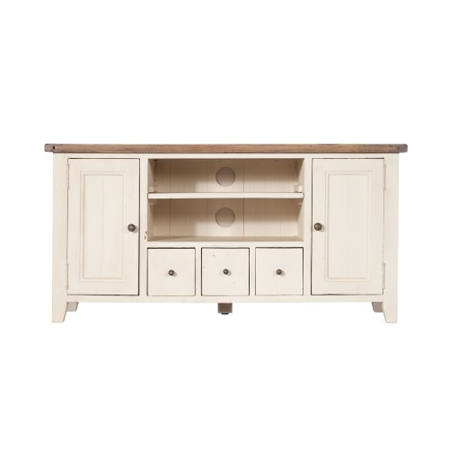 Casa Cotswold TV Unit, White