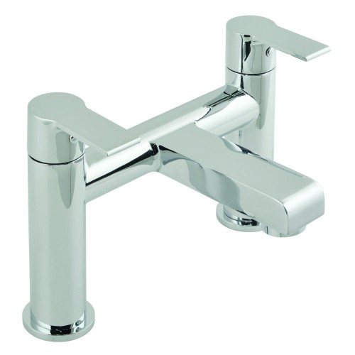 Casa Imola 2 Bath Filler Deck Mounted, Chrome