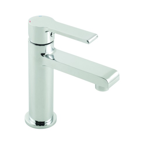 Casa Imola Mini Mono Basin Mixer Without Clic Clac Waste, Chrome