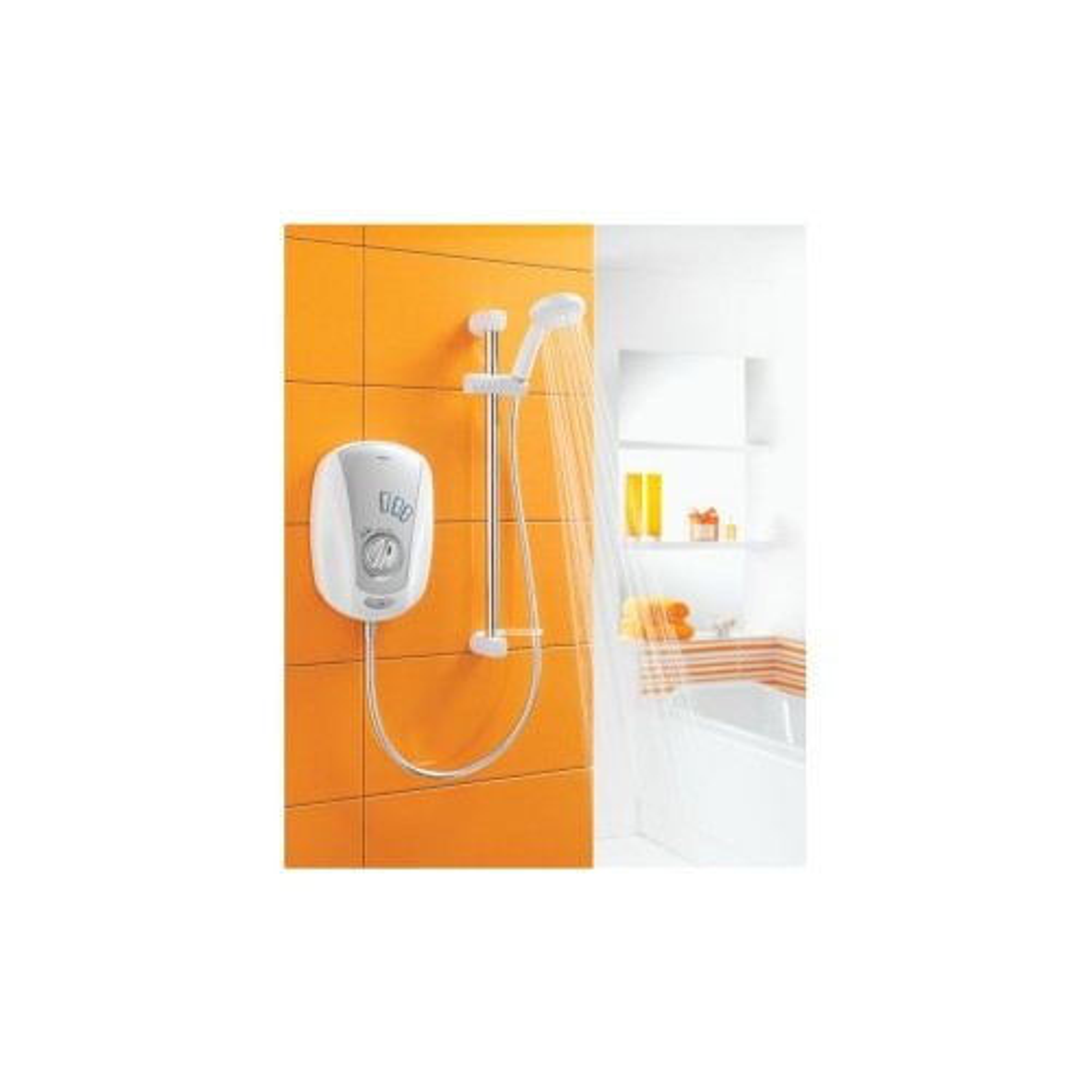 Aqualisa 9.5kw Vitalise Electric Shower