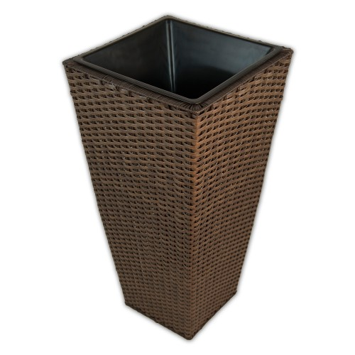 Casa Brown Tapered Planter Large Onesize