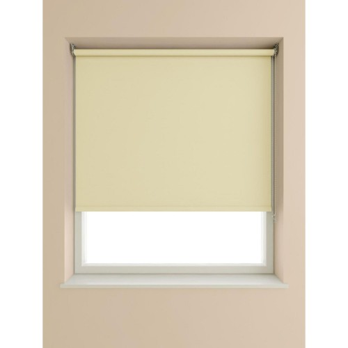 Blackout Roller Blind 60x190cm, Cream