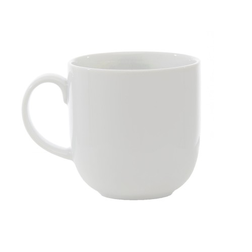 Casa White Coffee Mug, White