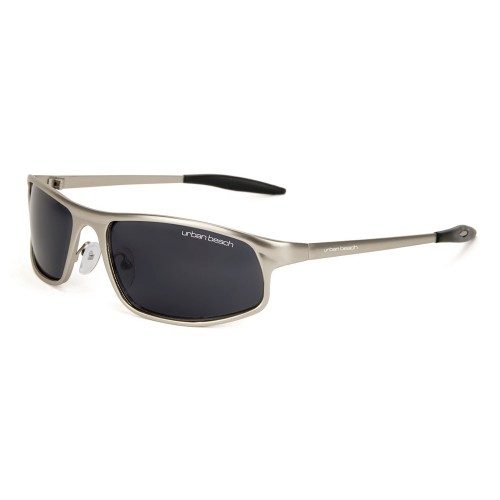 Urban Beach UV400 Sunglasses, Silver
