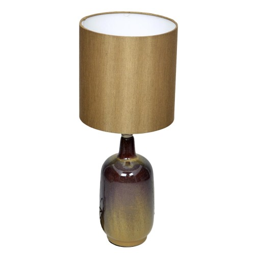 Casa Larter Table Lamp, Brown