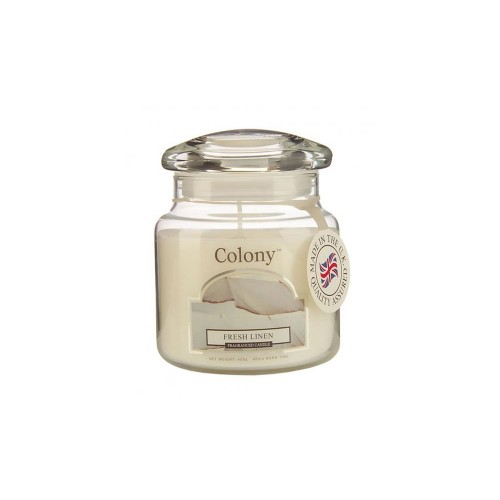 Colony Wax Filled Classic Jar Fresh Linen
