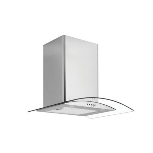 Caple Curved Glass Chimney Hood 60cm CGC610SS, Glass