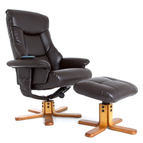 Casa Beijing Massage Chair and Footstool