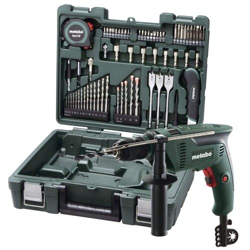 Metabo Power Tools 240v Impact Drill Inc Acc's Onesize
