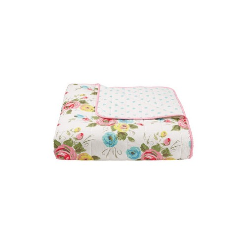 Cath Kidston Painterly Rose Bedspread
