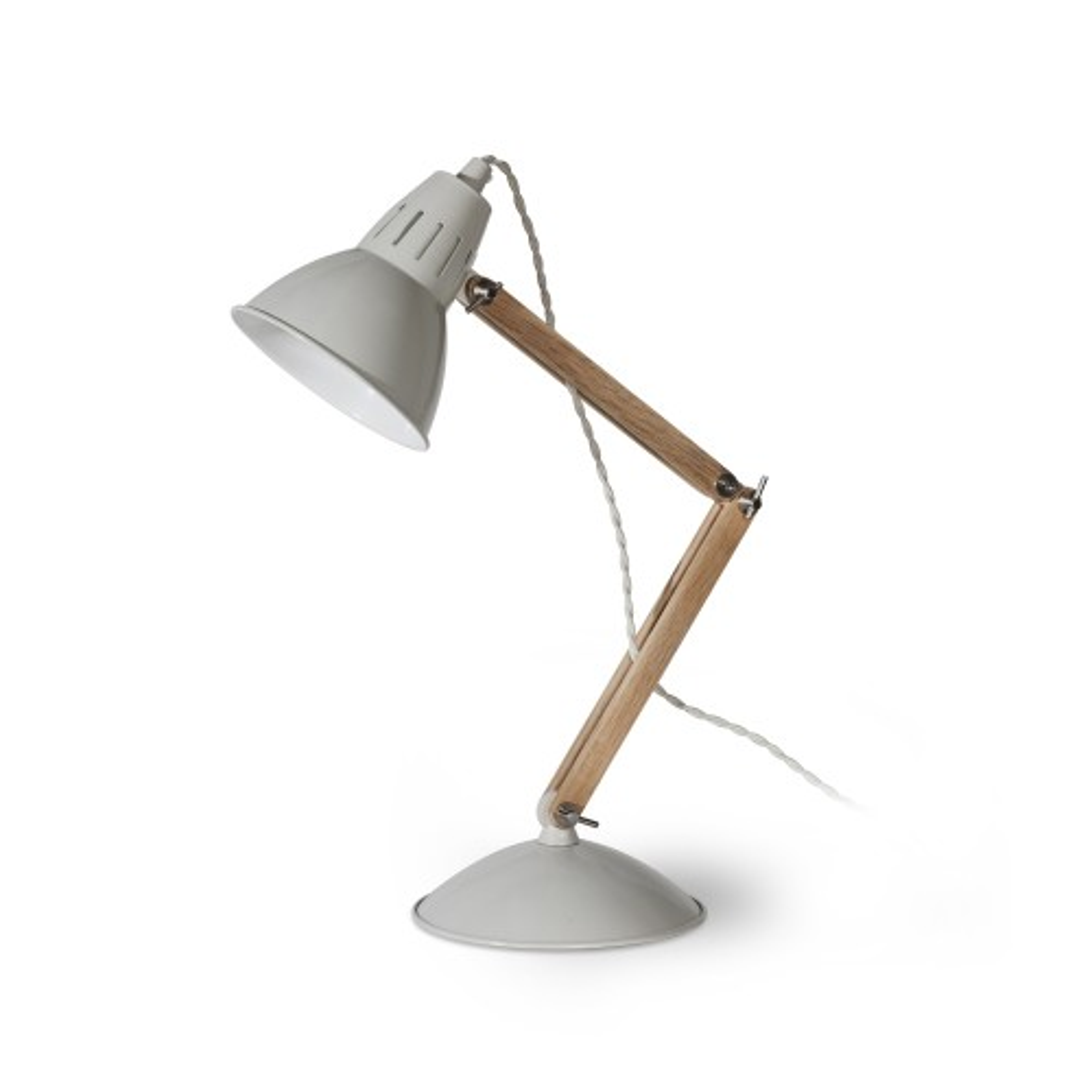 Bermondsey Table Lamp, Oak