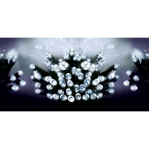 Premier 100 Battery Operated LED Lights, White