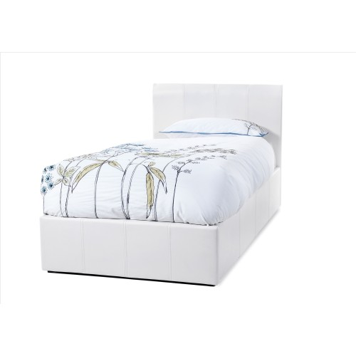 Casa Tuscany Single Bed Frame, White