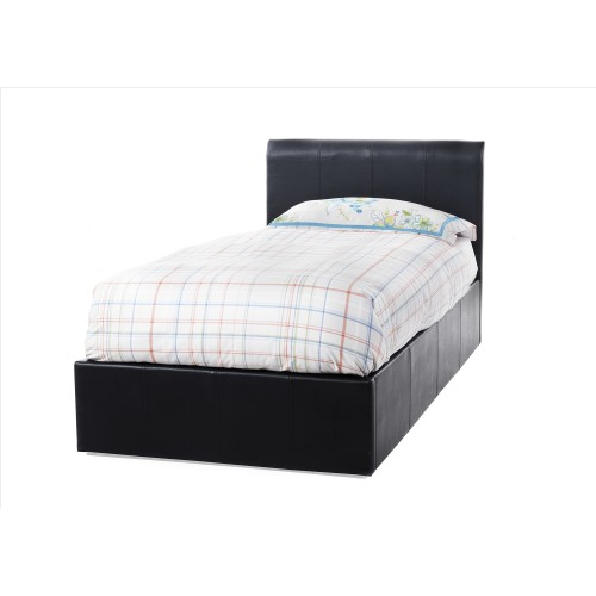 Casa Tuscany Single Bed Frame, Black