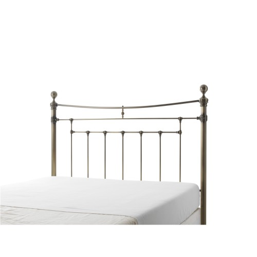 Casa Edmond King Size Headboard, Antique Brass