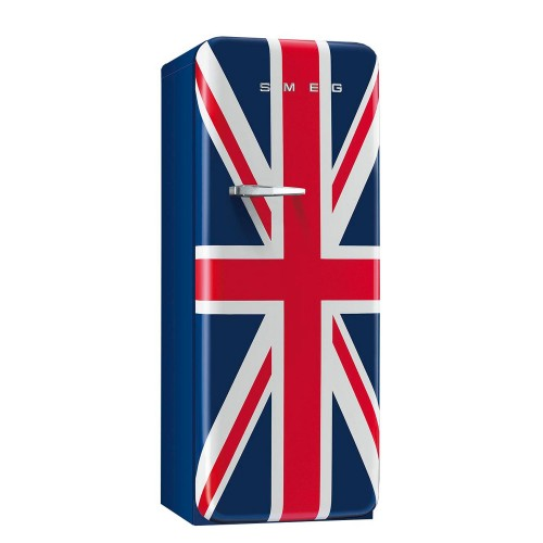 Smeg 50's Style Rh Hinged Fridge 60cm, Union Jack